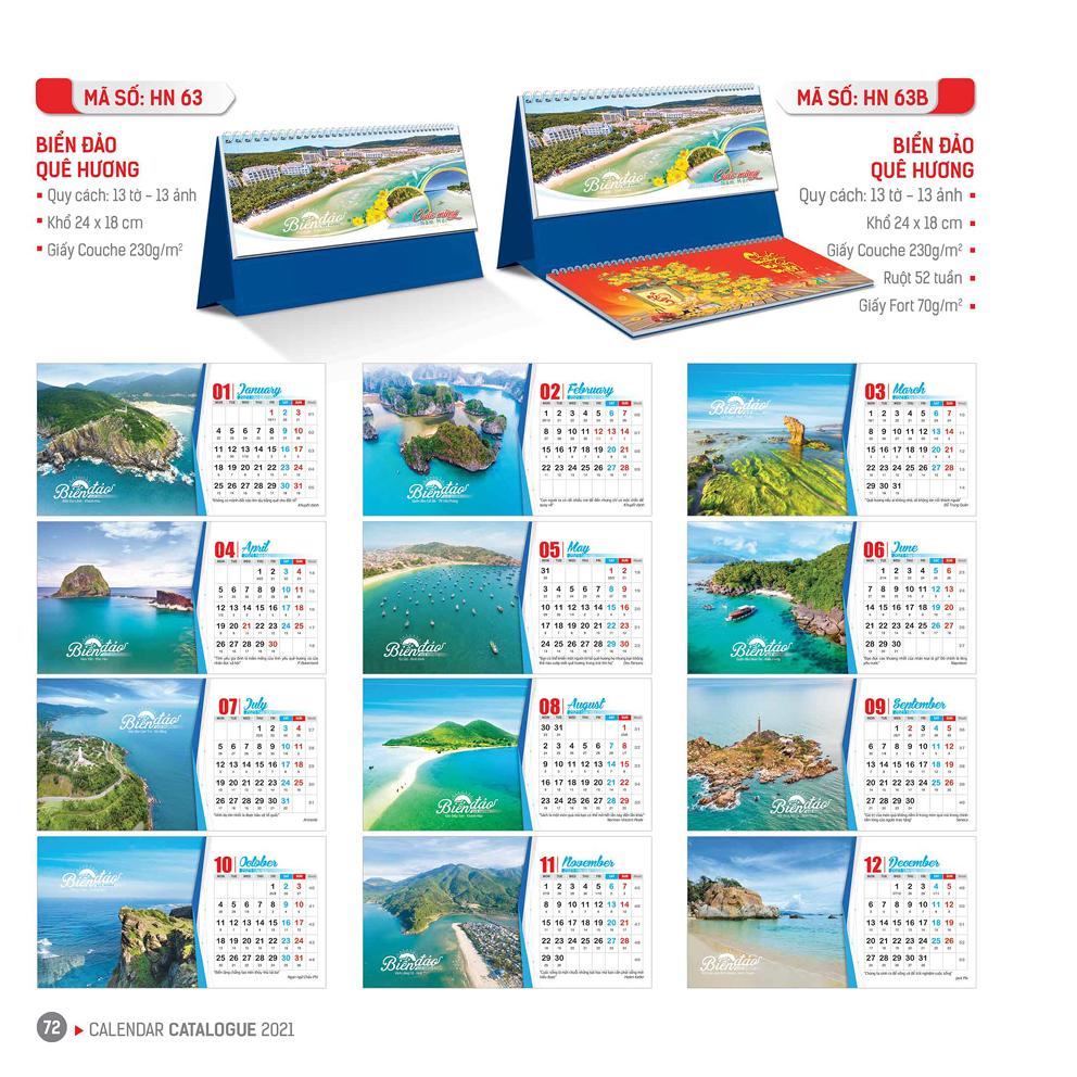 Lịch Bàn - Biển Đảo Quê Hương
