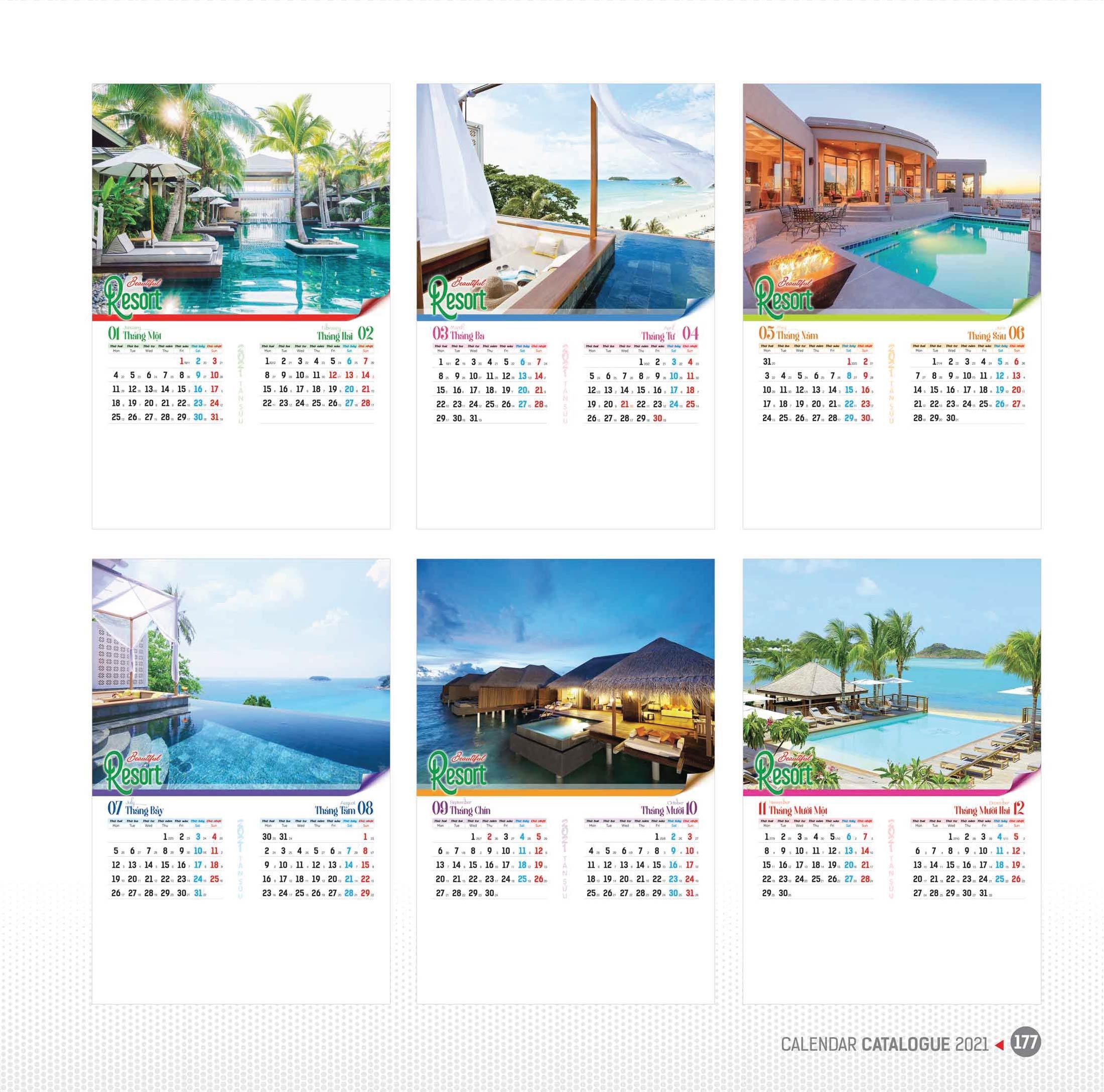 07 tờ - Beautiful Resort